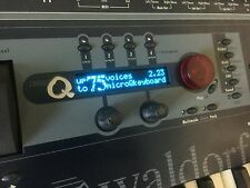 Waldorf Q Series / Micro Q  Series / Rack Attack - japanese oled display !