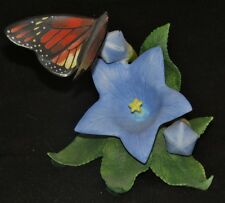 "Lenox ""Moncarch"" Butterfly on Flower Figurine"