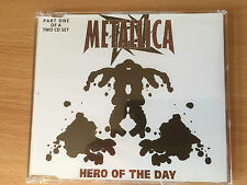 "METALLICA-""HERO OF THE DAY""-4 TRACK LIVE CD SINGLE-MOTORHEAD-BRAND NEW CD(PT 1)"