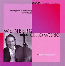 Weinberg: Cello Works, New Music