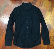 Used Esprit Long Sleeves Black Polo Shirt size US Medium