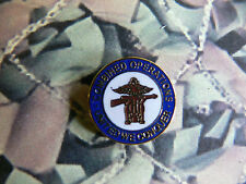 Combined Operations Enamel Lapel Badge Ops