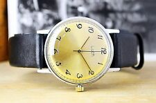 USSR Vintage Luch Ray Soviet Russian Men's Watch with new leather strap