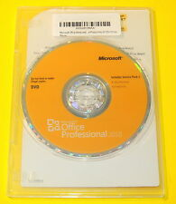 Microsoft Office Pro Professional 2010 DVD & Product Key with COA 1PC/1USER
