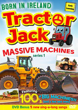 TRACTOR JACK - MASSIVE MACHINES SERIES1 - BORN IN IRELAND - FREE UK SHIPPING