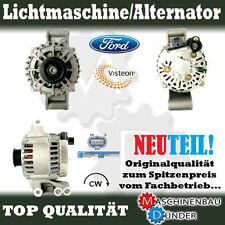 FORD FOCUS FIESTA VAN COURIER KA LICHTMASCHINE ORIGINAL VISTEON NEU GENERATOR