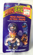 *RARE* VINTAGE 1980'S AMTOY MADBALLS BRUISE BROTHER HEAD POPPER MINT ON CARD!!!