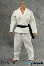 ZY Toys 1/6 Scale  Judogi Kung Fu Uniform For Hot Toys Narrow Shoulder Body