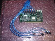 Dell Cerc 6-Channel 64MB PCI-X SATA Raid Controller XD084 W/ 6 Port Cable GJ554