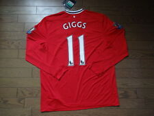 Manchester United #11 Giggs 100% Official Jersey Shirt 2011/12 XL BNWT NEW LS