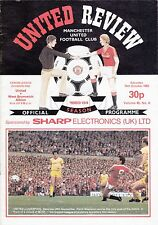 Man Manchester United v West Bromwich Albion 1983 / 84 Division 1 - token intact