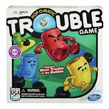 Hasbro Gaming Trouble Board Game Funny Party Games Gift for Kids and Adults .