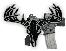 AR15 Lower BUCK SKULL Decals  Magazine Stickers  AR-15 Mag Black Ops (2)
