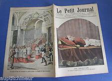 Le petit journal 1903 663 Vatican mort de Léon XIII