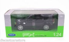 WELLY LAND ROVER RANGE DISCOVER 4 BLACK 1/24 NEW IN BOX DIECAST CAR 24008