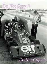 Ronnie Peterson Tyrell P34 Testing Silverstone 1976 Photograph 2