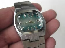 NOS  VINTAGE  FRANCE MADE MEN'S wristwatch MIDAS 17Jewels -FE 233-66-NOS!!