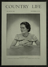 Lady Marye Violet Isolde Rous 1954 1 Page Photo Article