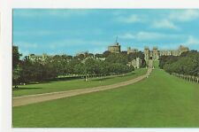 The Long Walk, Windsor Old Postcard, A828