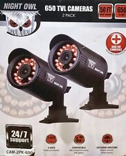 Night Owl CAM-2PK-650 50ft Night Vision Security Bullet Camera - NEW OPEN