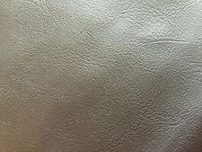 """Marrón oscuro piel sintética de 12 """"x 8"""" pieza de muestra 99P"""