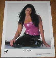 Rare 2001 WWF Chyna P-635 8x10 Promo Photo Joanie Laurer WWE Divas Promotional