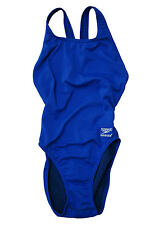 Speedo Endurance+ Training III One-Piece Swimsuit Tank $69 Sapphire Blue 6/32