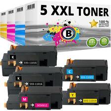 5 XXL Toner Patrone kompatibel für Epson Aculaser C1700 C1750N CX17NF CX17WF Set