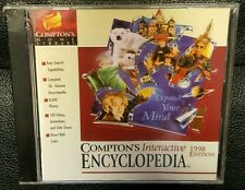 The Learning Company Compton's Interactive Encyclopedia 98 (for windows 95/98)