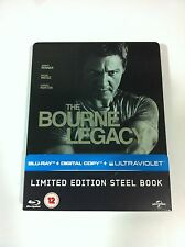 THE BOURNE LEGACY - BLU-RAY STEELBOOK + UV COPY - JEREMY RENNER - BR