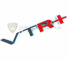 Brand New and Genuine Citroen C4 & Picasso VTR+ Badge Chrome & Red