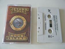 JETHRO TULL - ROCK ISLAND - CASSETTE TAPE - CHRYSALIS (1989)