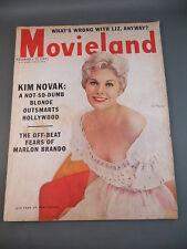 1956 November MOVIELAND Magazine Full Issue KIM NOVAK Cover