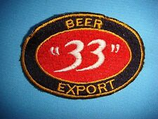 "BL PATCH  LOGO BEER "" 33 "" EXPORT FROM SAIGON BEER FACTORY"