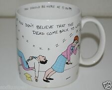 WOW If You Don't Believe The Dead Come Back To Life, Be Here at 5pm Coffee Mug
