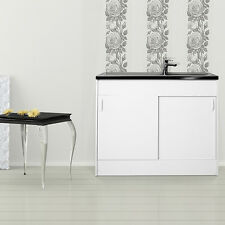 respekta évier sous armoire Meuble-lavabo Évier complet Evier Inox 100 x 50cm