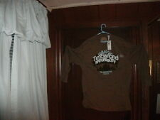 Timberland t-shirt brown long sleeve nature & city without ducks size XL NEW