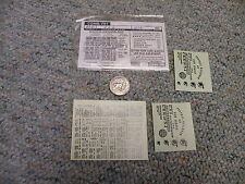 Walthers   decals HO Combined freight 33-B Central New Jersey black   M78