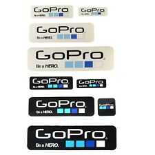 New 9 Pcs Icon Logo Stickers Decal Set for GoPro Hero 4 3+ 3 2 1 Sports Camera
