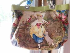VERY RARE Early BRIGHTON Victorian Scene Reversible Leather purse BEAUTY Must Se