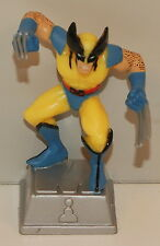"2003 Wolverine 3"" PVC Plastic Action Figure on Stand X-Men Marvel Comics"