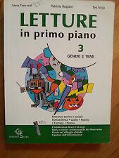 Anna Tancredi-Patrizia Bugiani-Tea Noja Letture in Primo Piano 3+ Guida Garzanti