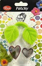 Viva Decor PATCHY MOLD + CUTTER Sweetheart LEAF 930203800 Cake Crafting Mould