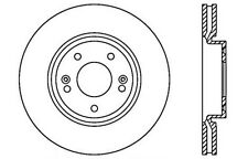 Centric Parts 121.51020 Front Disc Brake Rotor