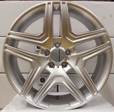 "20"" MERCEDES 5 X 112 ML63 ALLOYS ET45 66.6 WHEELS"