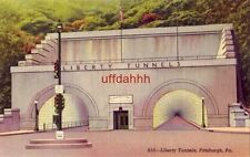 LIBERTY TUNNELS, the largest underground passages in the world, PITTSBURGH, PA
