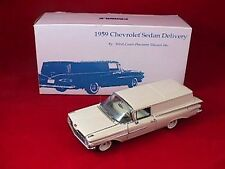 1959 Chevy Sedan Delivery 1:24 White by West Coast Precision Diecast