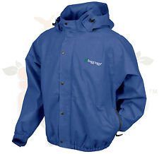 2XL 2X Frogg Frog Toggs Royal Blue Pro Action Rain Jacket PA63102-12XX