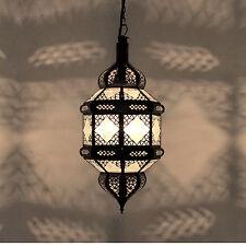 """Orientalische Laterne Marokkanische Lampe Hängeleuchte Hängelampe """"Titia"""" weiß"""