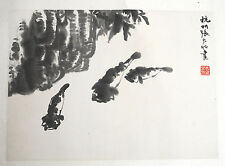 Chinese  Water  On  Paper  Painting   2
